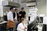 Prohlídka zmodernizovaných laboratoří Prohlídka zmodernizovaných laboratoří