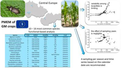 Use of Carabids for the Post-Market Environmental Monitoring of the Genetically Modified Crops